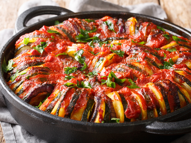 Ароматна гръцка кухня : Бриам