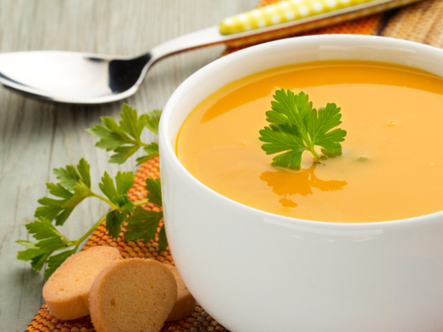 Морковена супа с босилек