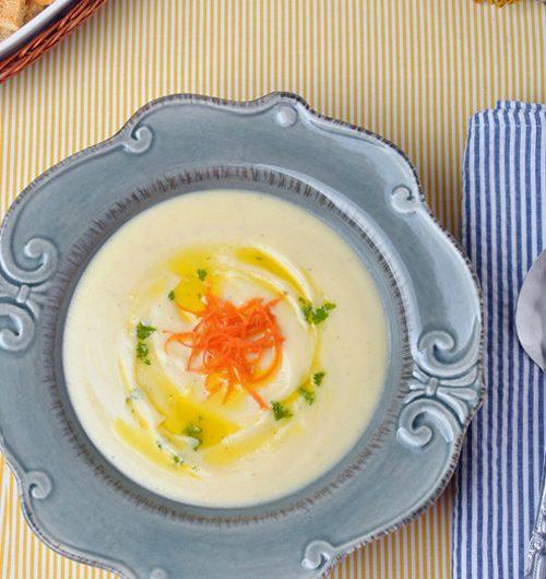 Най-лесната картофена крем супа