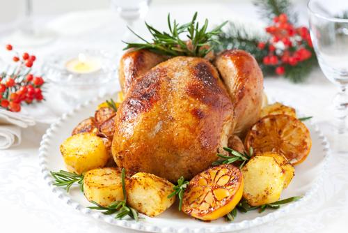 Бавно печено пиле